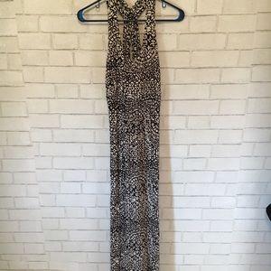 Soma intimates black and white maxi dress M